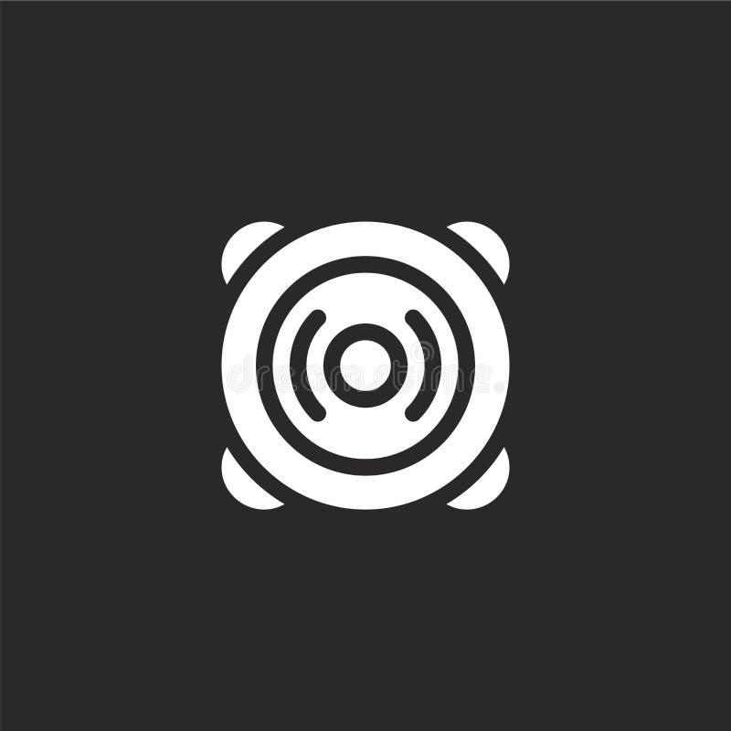 icône haut-parleur Icône haut-parleur rempli pour la conception de sites Web et le développement d'applications mobiles icône de  illustration libre de droits