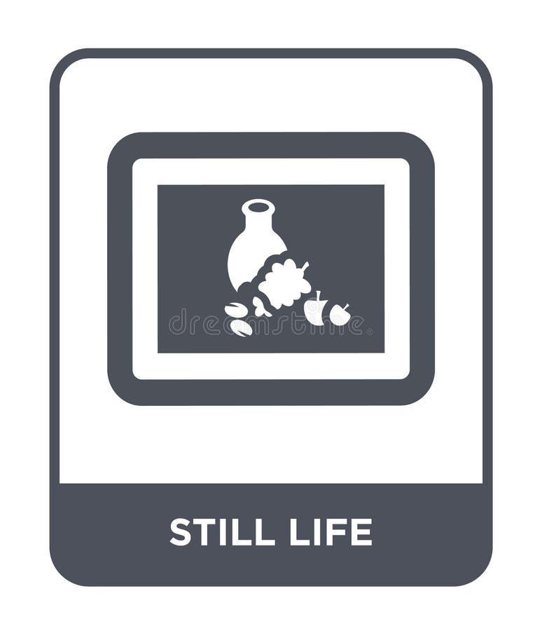 icône immobile de la vie dans le style à la mode de conception icône immobile de la vie d'isolement sur le fond blanc icône immob illustration stock