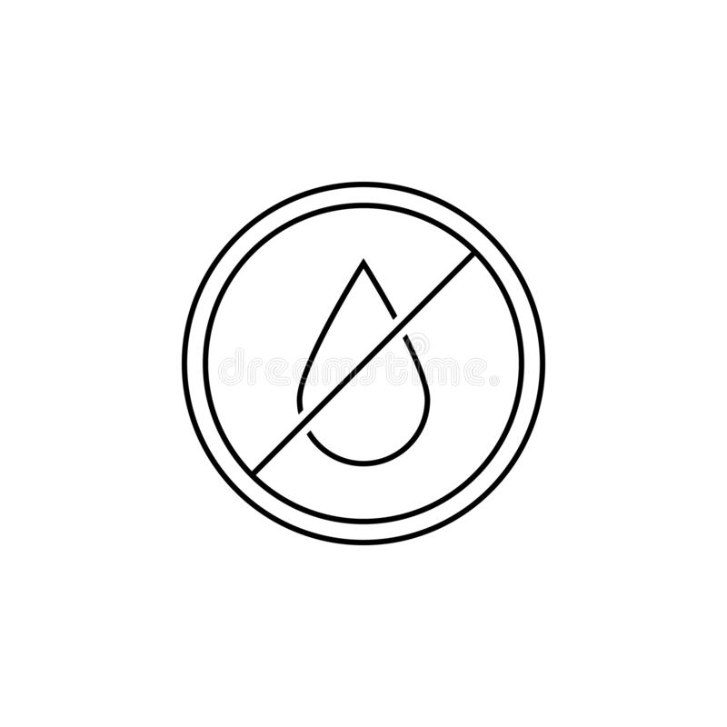 icône libre de graisses de transport Élément d'icône de GMA pour des applis mobiles de concept et de Web La ligne mince icône lib illustration stock