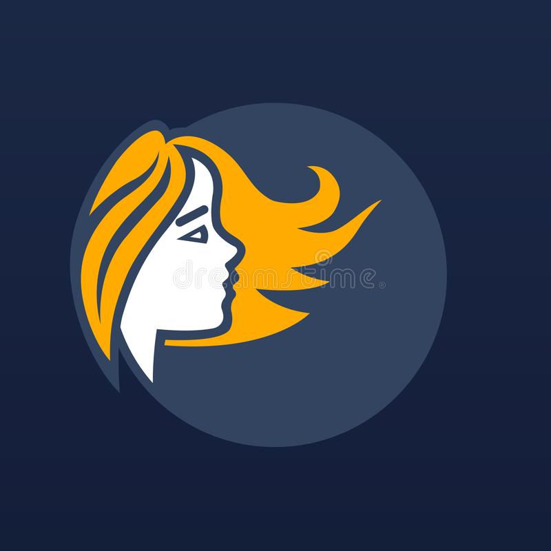 Icône/logo d'horoscope Illustration d'art illustration de vecteur
