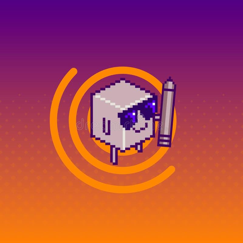 Icône/logo de polygone Illustration d'art illustration libre de droits