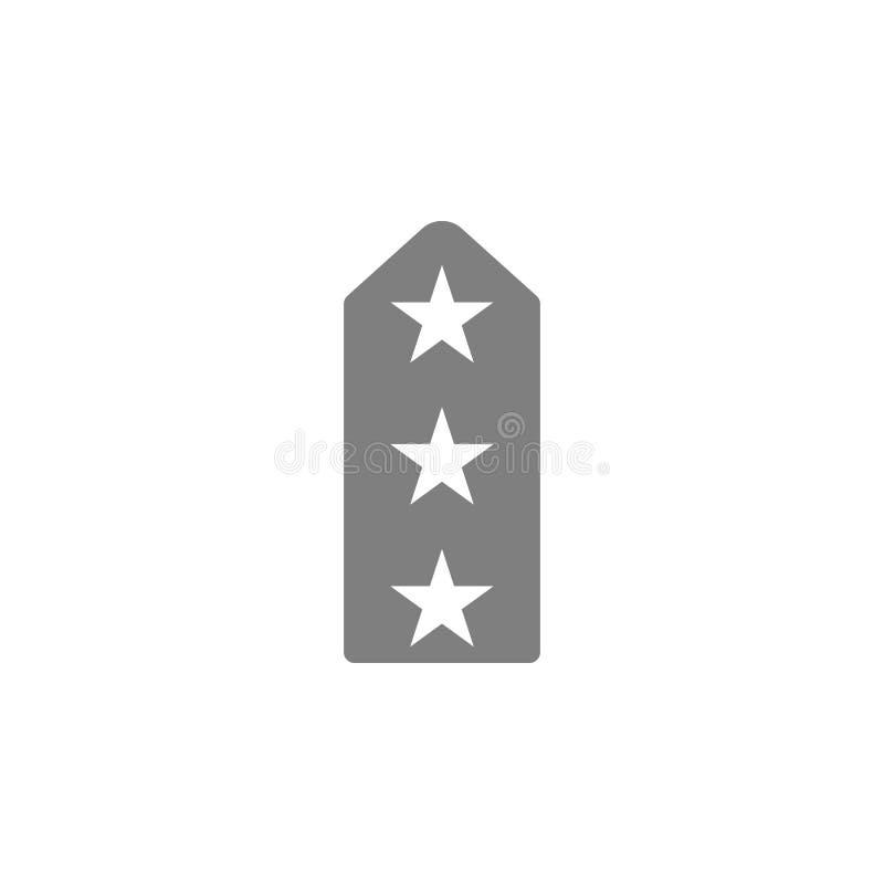 Icône luxuriante de bandoulières illustration de vecteur