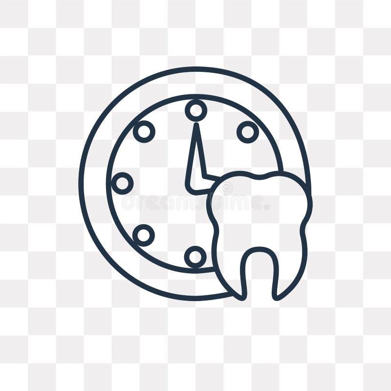 Icône médicale de vecteur de rendez-vous d'isolement sur le backgrou transparent illustration libre de droits