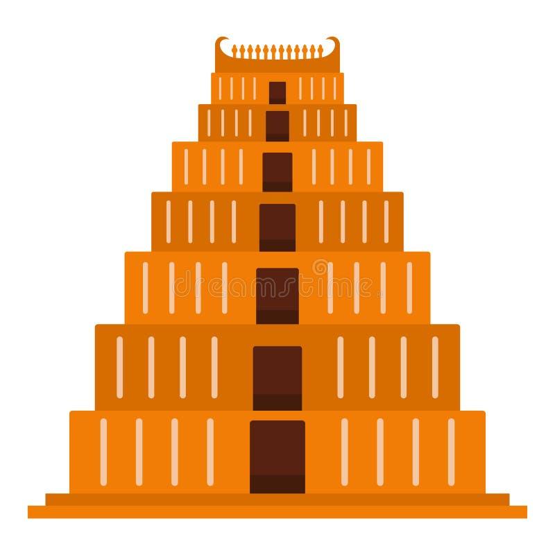 Carte Postale De Ziggurat De Maya Illustration de Vecteur - Illustration du ramassage, main ...