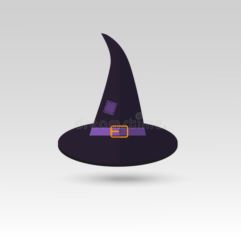 Icône mignonne de Halloween pour la carte, l'invitation et le pair de vacances illustration de vecteur
