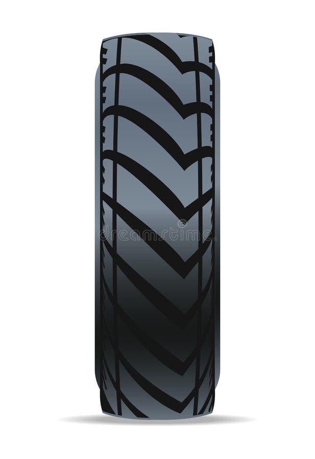 Icône moderne de vecteur de pneu de voiture illustration de vecteur