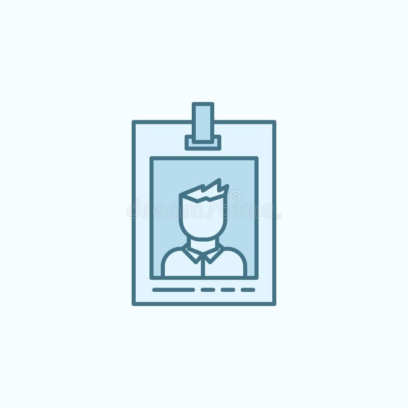 icône notable d'ensemble de champ de police Élément d'icône de crime illustration stock