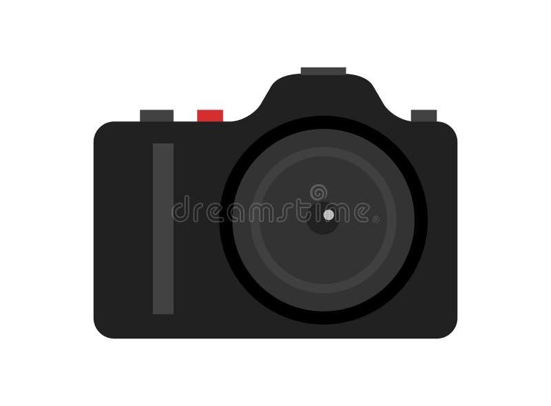 Icône numérique professionnelle d'appareil-photo de photo illustration stock