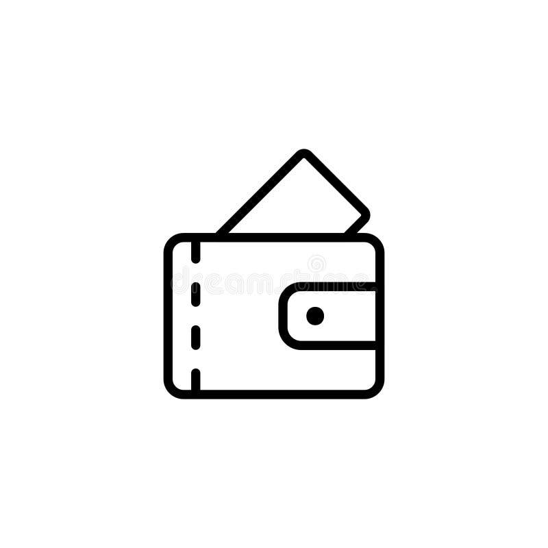 Icône plate de casino illustration libre de droits