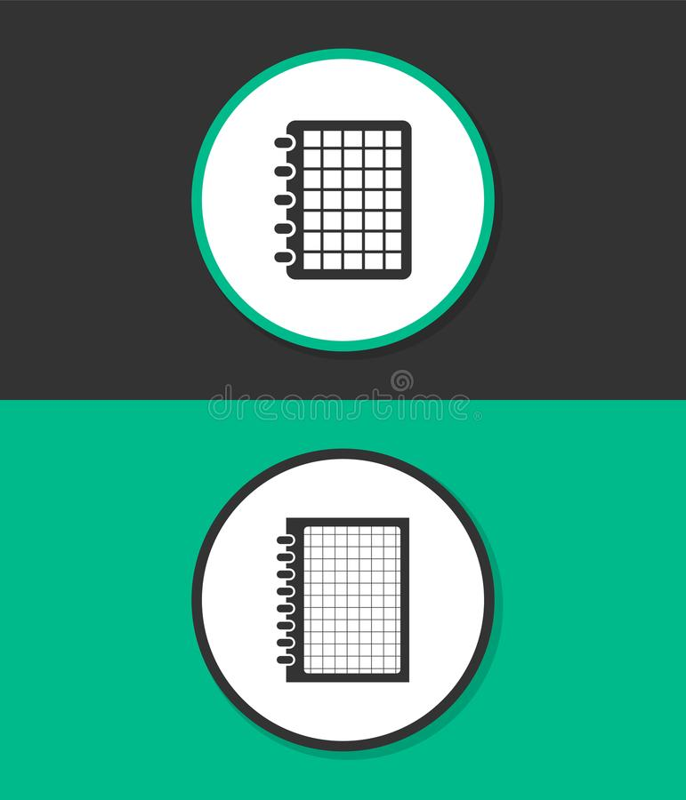 Icône plate simple de vecteur illustration stock