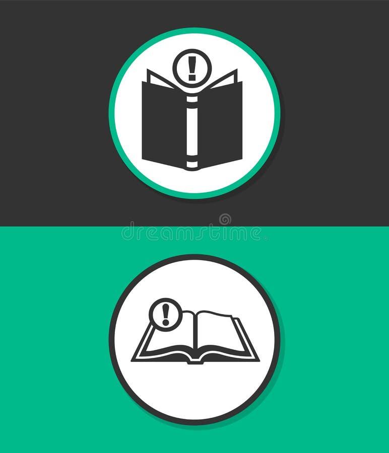 Icône plate simple de vecteur illustration libre de droits