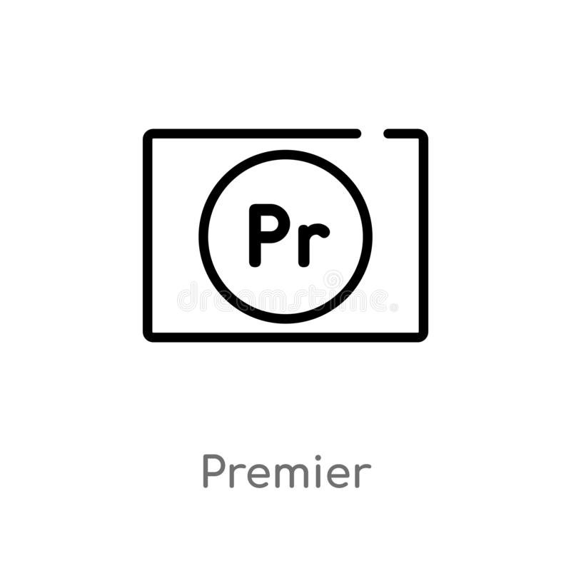 icône première de vecteur d'ensemble r Course Editable de vecteur illustration de vecteur