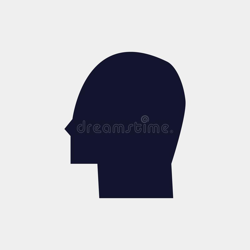 icône principale, illustration Icône plate illustration libre de droits