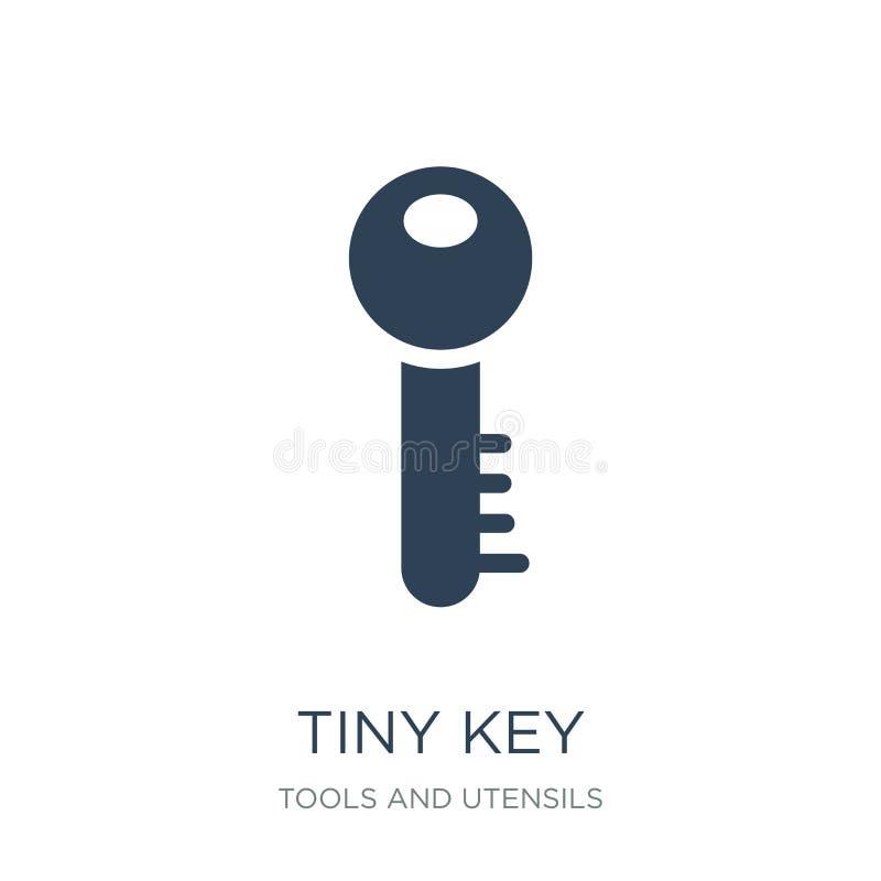 icône principale minuscule dans le style à la mode de conception icône principale minuscule d'isolement sur le fond blanc apparte illustration stock