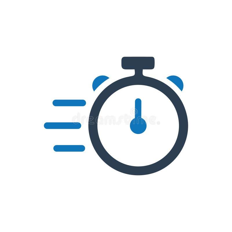 Icône rapide de service illustration libre de droits