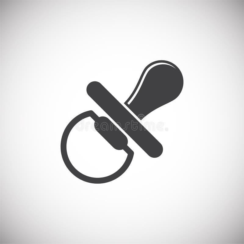 Icône relative de reproduction sur le fond pour le graphique et la conception web Illustration simple Symbole de concept d'Intern illustration libre de droits