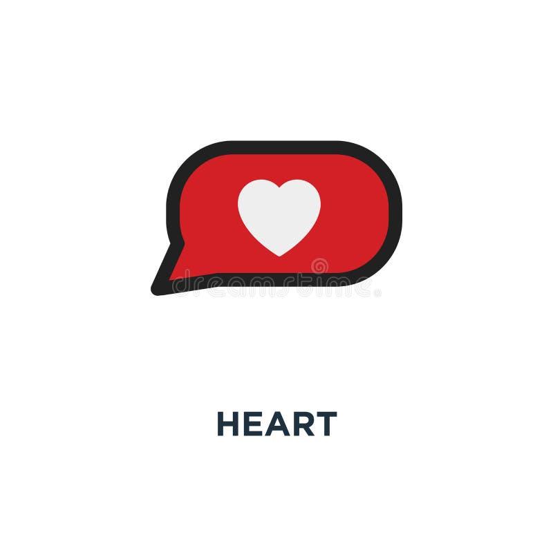 icône rouge d'icônes de coeur signe de conception de symbole de concept d'amour, collec illustration de vecteur