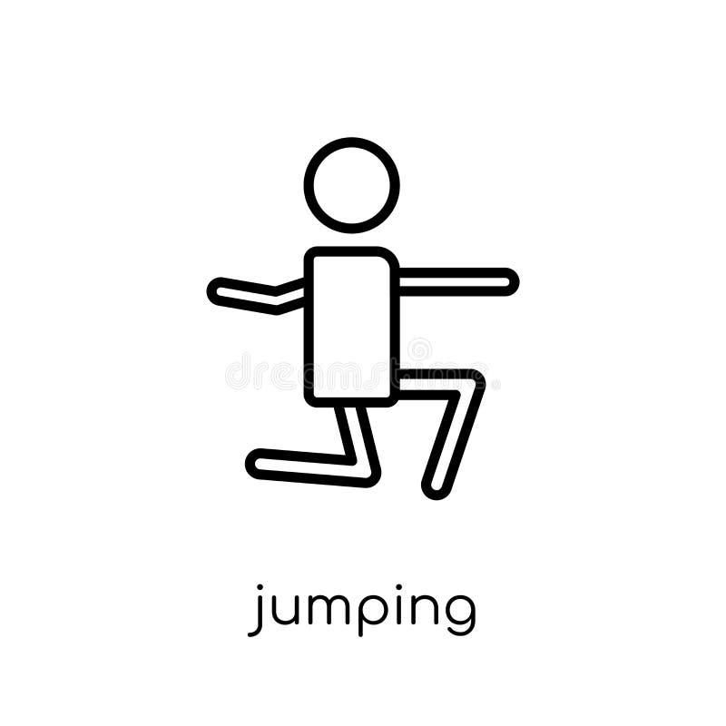 Icône sautante  illustration libre de droits
