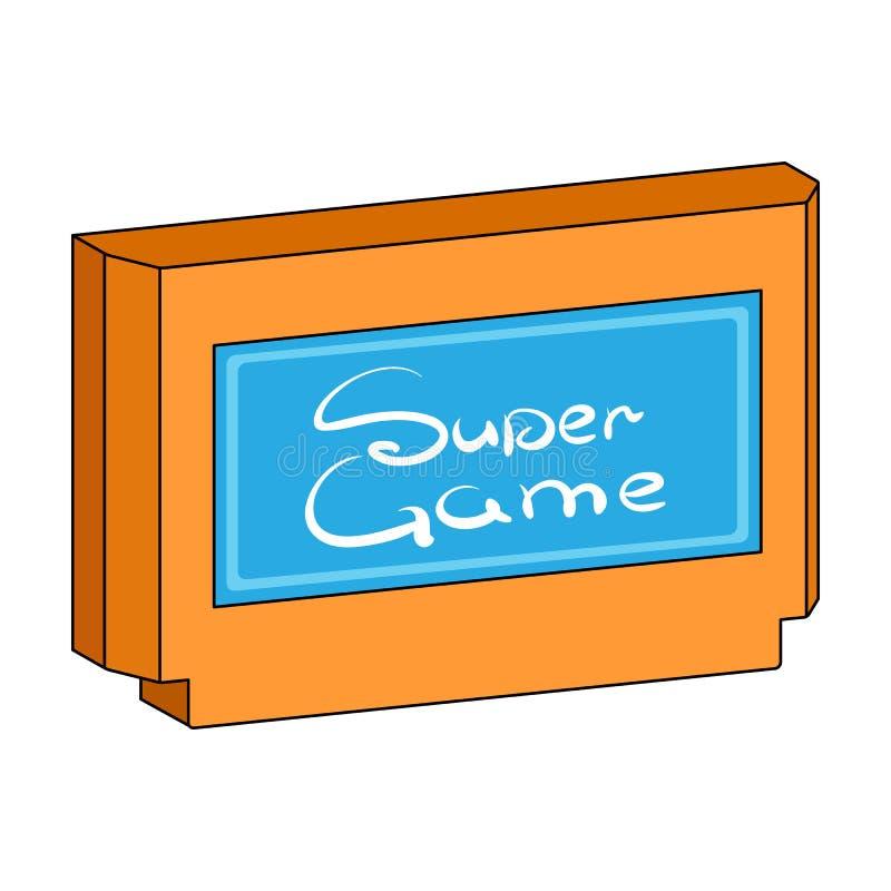 Icône simple de cartouche dans le style de bande dessinée pour la conception Illustration de Web d'actions de symbole de vecteur  illustration stock