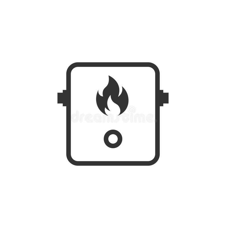 Icône Tankless de chauffe-eau illustration libre de droits