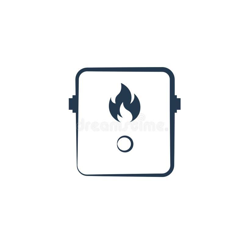 Icône Tankless de chauffe-eau illustration stock