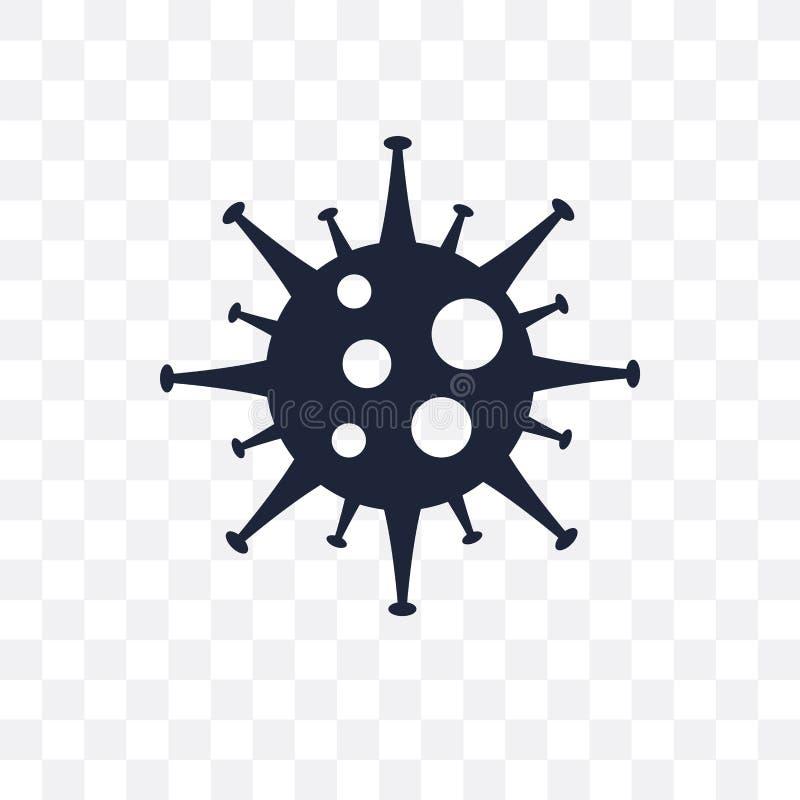 Icône transparente de système immunitaire Conception de symbole de système immunitaire de illustration de vecteur