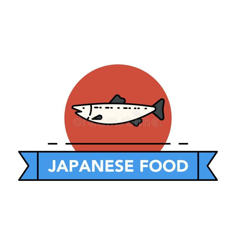 Icônes de fruits de mer illustration libre de droits
