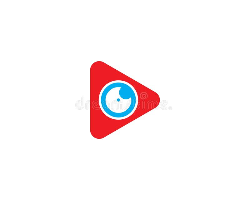 Icônes de musique et de calibre de symboles de logo de medias players illustration de vecteur
