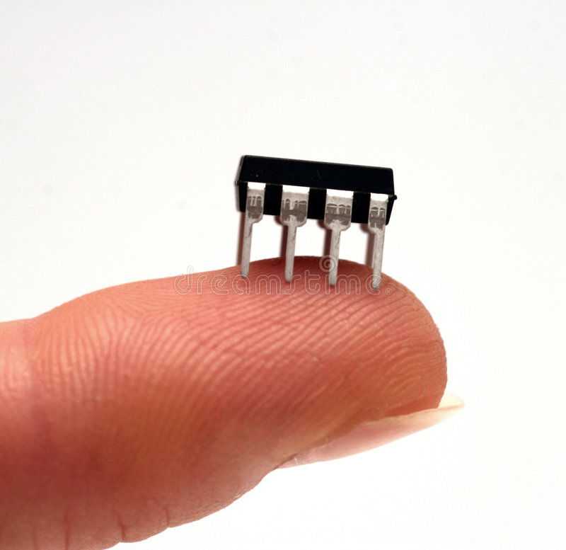 IC - integrated circuit royalty free stock images
