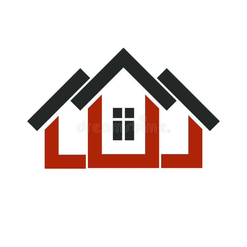 ic ne l gante de promoteur immobilier symbole d 39 entreprise d 39 agence immobili re illustration. Black Bedroom Furniture Sets. Home Design Ideas