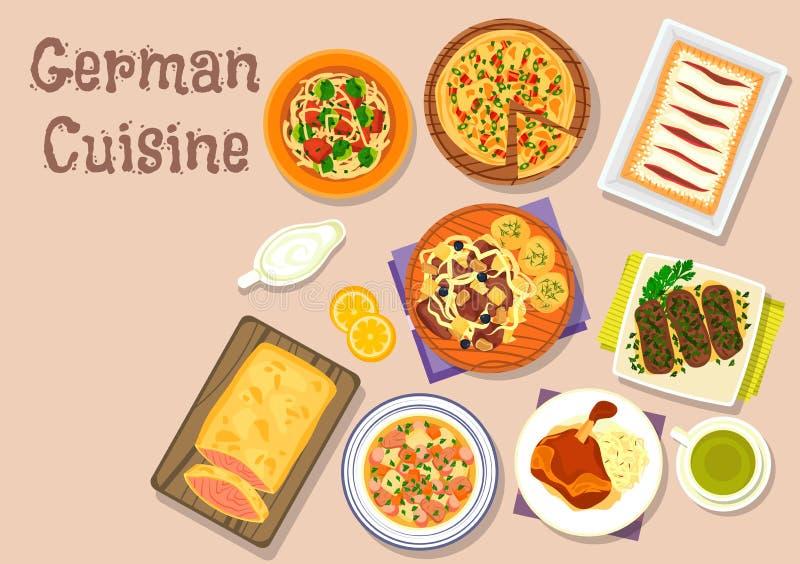 cuisine allemande das kochbuch le livre de la cuisine cuisine allemande unique photos recettes. Black Bedroom Furniture Sets. Home Design Ideas