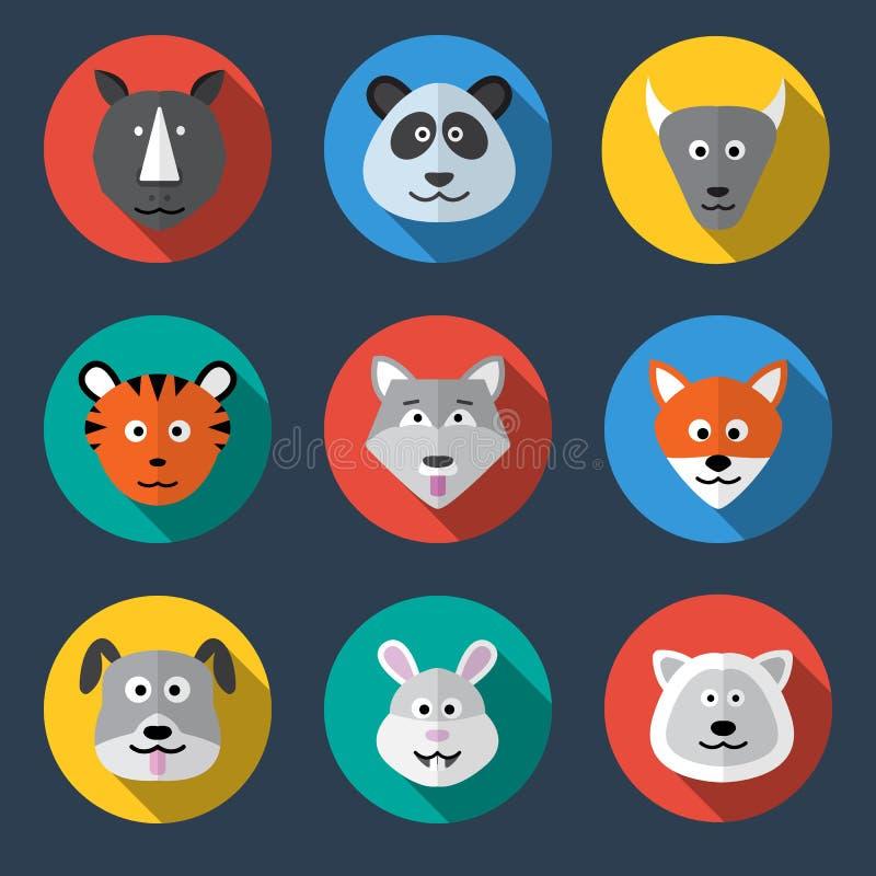 Icône animale photo stock