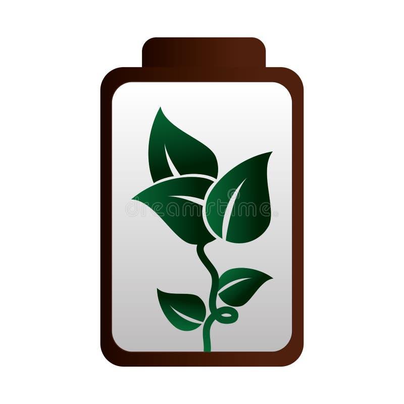 Download Icône D'écologie D'énergie De Batterie Illustration de Vecteur - Illustration du charge, signe: 87703644