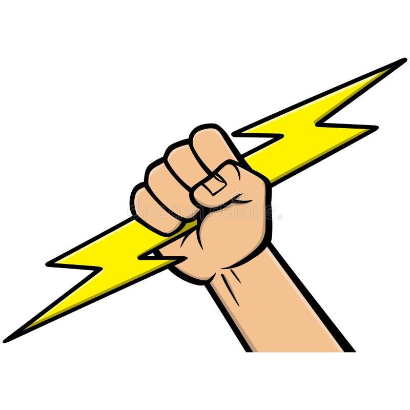 Icône d'électricien illustration stock