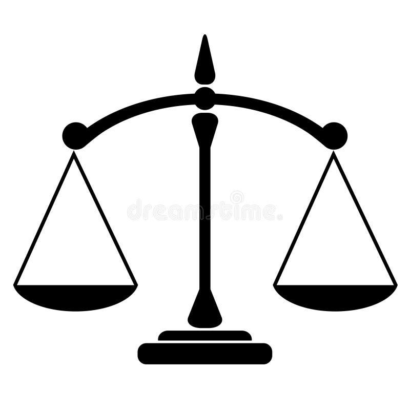 Icône d'équilibre illustration stock