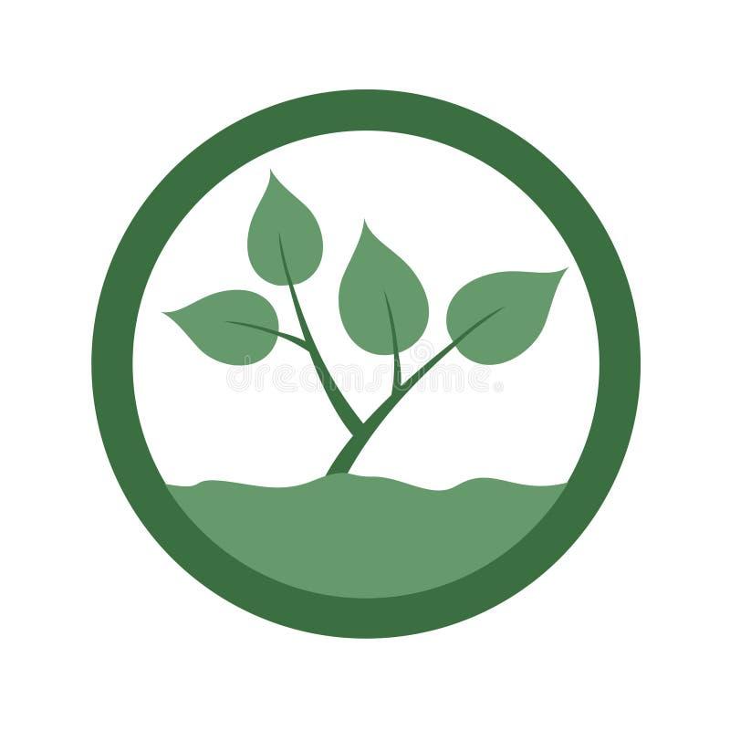 Icône d'agriculture illustration libre de droits