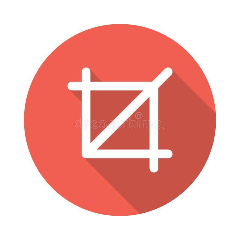 Icône d'alignement de culture illustration stock