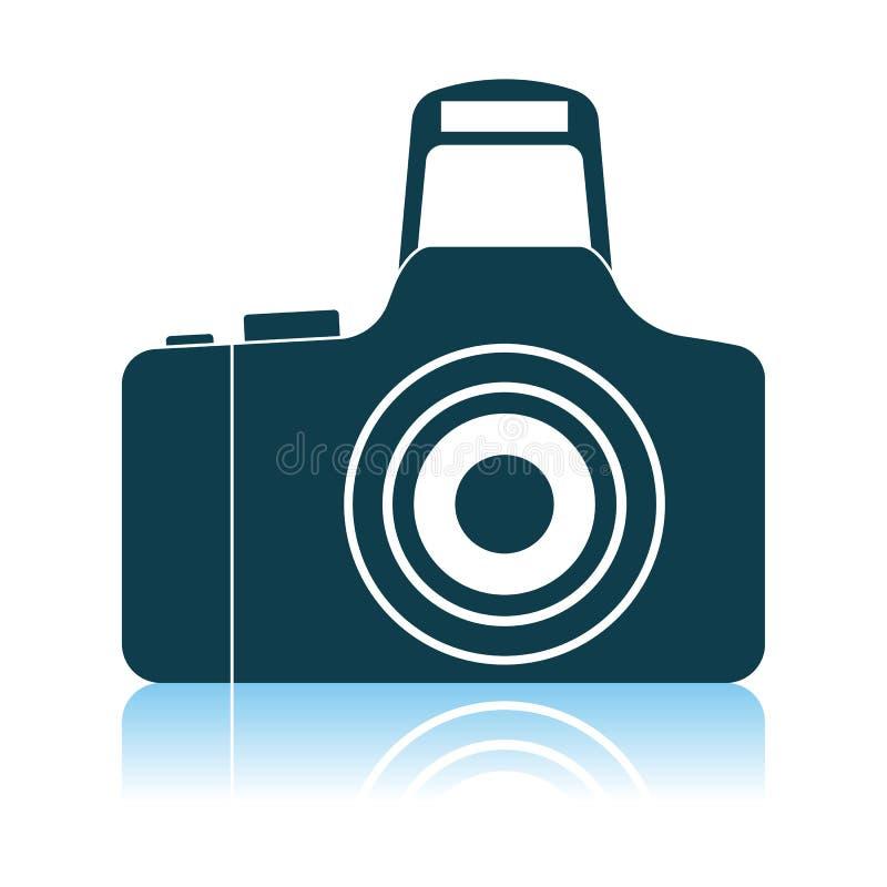 Ic?ne d'appareil-photo de photo illustration stock
