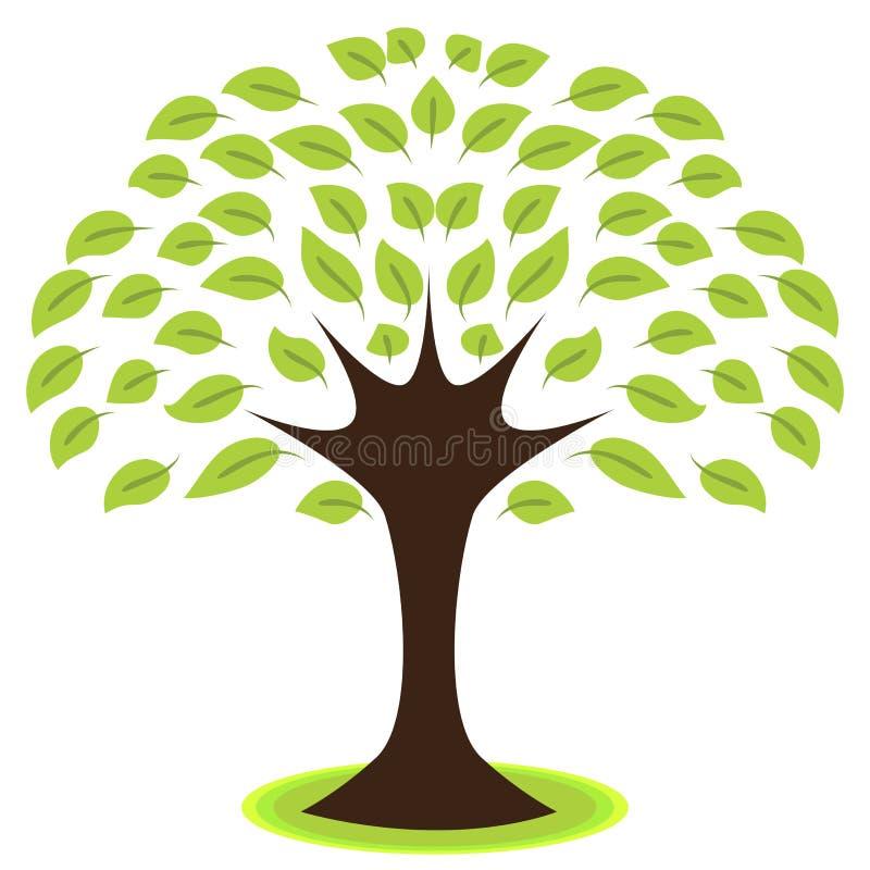 Icône d'arbre illustration libre de droits