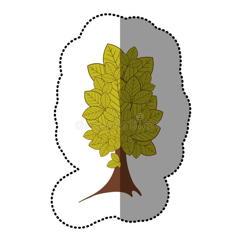 Download Icône D'arbre D'autocollant De Vert De Chaux Belle Illustration Stock - Illustration du cartoon, illustration: 87705594