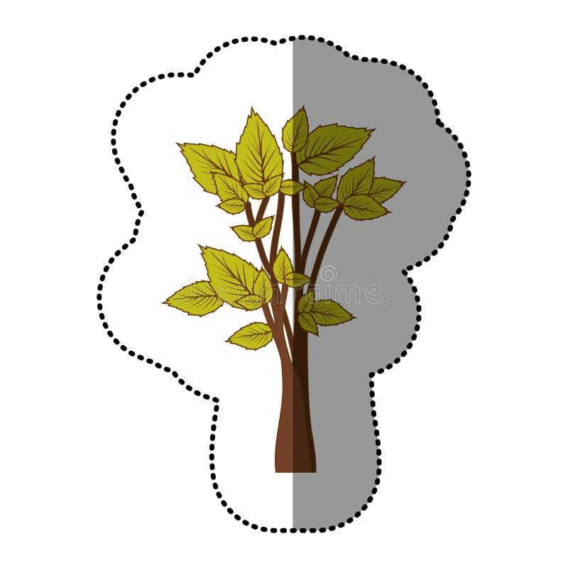 Download Icône D'arbre De Vert De Chaux Belle Illustration Stock - Illustration du dessin, conception: 87705990