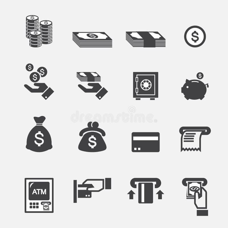 Icône d'argent illustration de vecteur