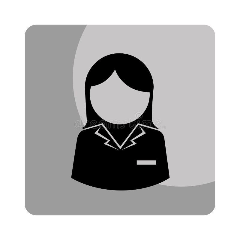 Download Icône D'avatar De Caractère De Femme D'affaires Illustration de Vecteur - Illustration du expression, businessman: 87703263