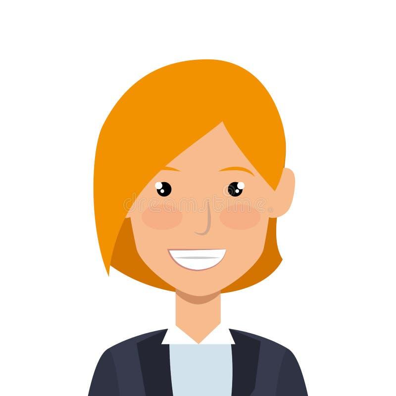 Download Icône D'avatar De Caractère De Femme D'affaires Illustration de Vecteur - Illustration du avatar, vecteur: 87704398