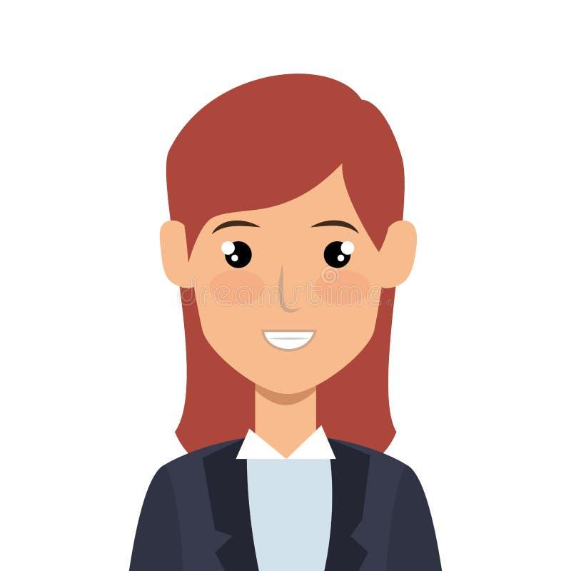Download Icône D'avatar De Caractère De Femme D'affaires Illustration de Vecteur - Illustration du illustration, symbole: 87704433