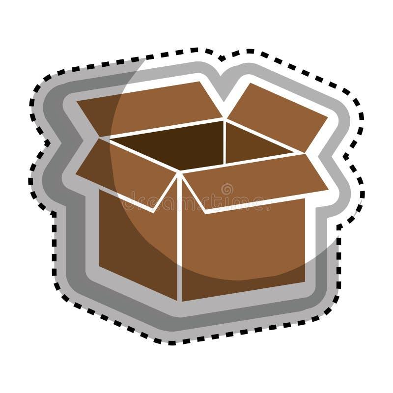 Download Icône D'emballage De Carton De Boîte Illustration de Vecteur - Illustration du empaquetage, cargaison: 87703172