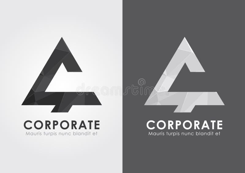Icône d'entreprise de C Montrez votre busi moderne et simple illustration stock