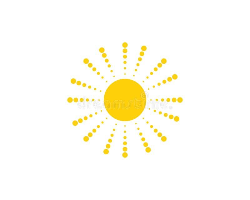 Ic?ne d'illustration de vecteur de Sun illustration de vecteur