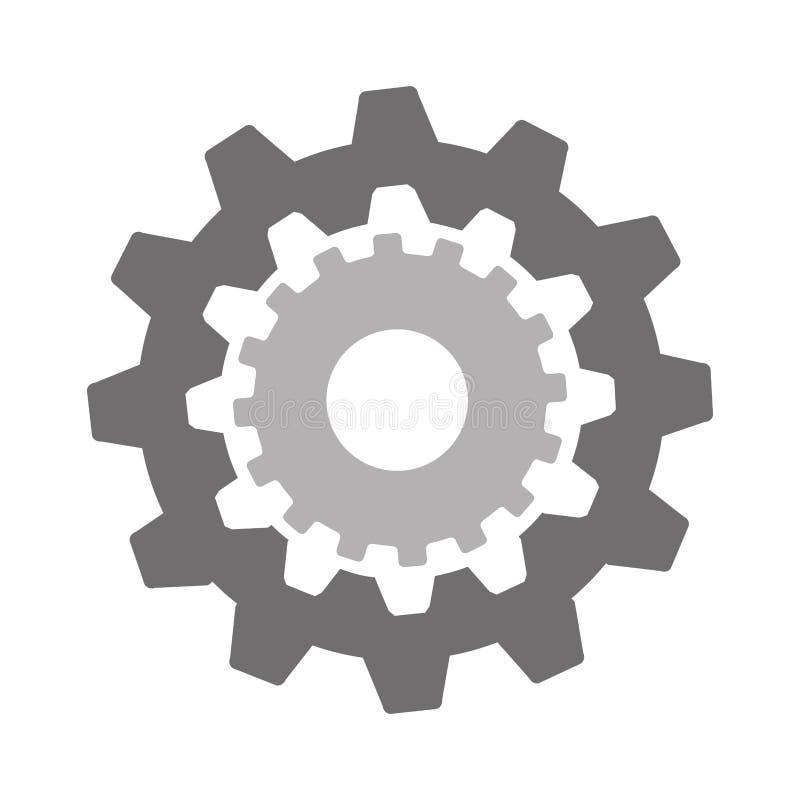 Icône d'installation d'arrangements de vitesse illustration libre de droits
