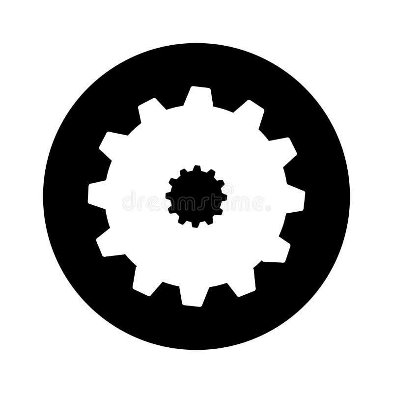 Icône d'installation de machine de vitesse illustration libre de droits